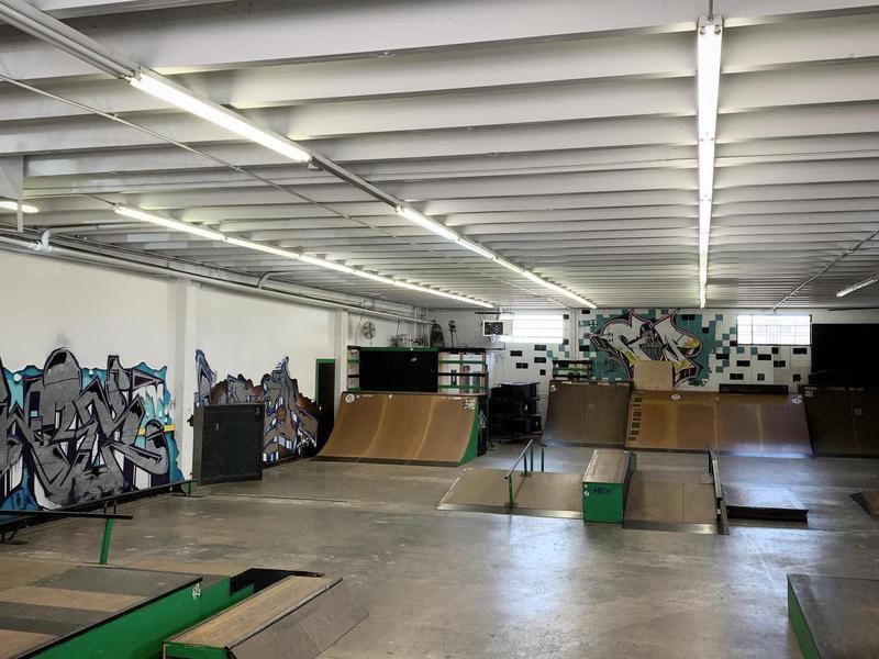 G&P Indoor Skatepark in Rapid City, South Dakota