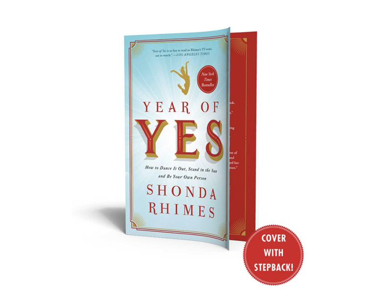 """Rhimes's New York Times bestseller, in which she says """"yes"""" to everything for a year, is part-memoir, part-inspirational book."""