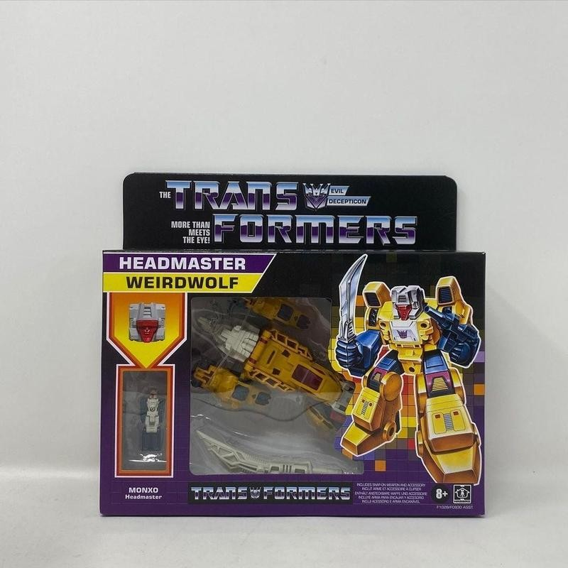 Transformers box with toy inside