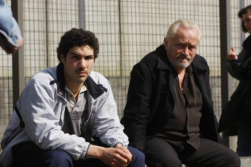 Niels Arestrup and Tahar Rahim in A Prophet