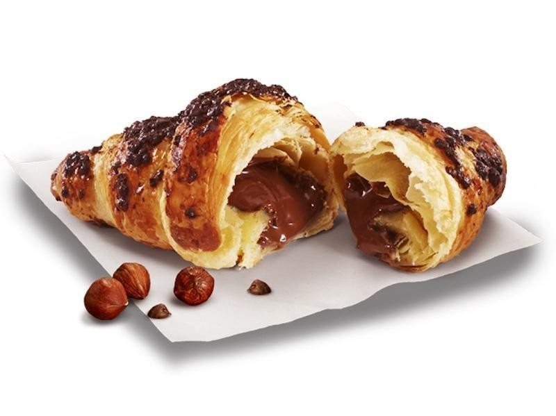 McDonalds Chocolate Nutella Croissant