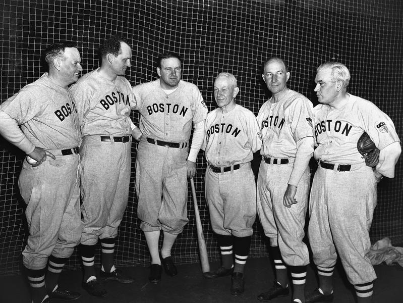 Hugh Duffy and 1944 Red Sox brain trust
