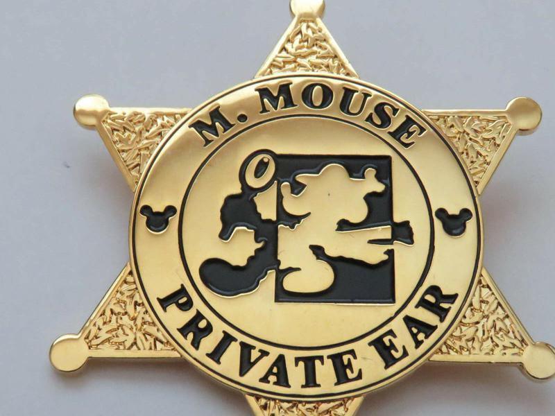 Mickey Mouse Sheriff Disney pin