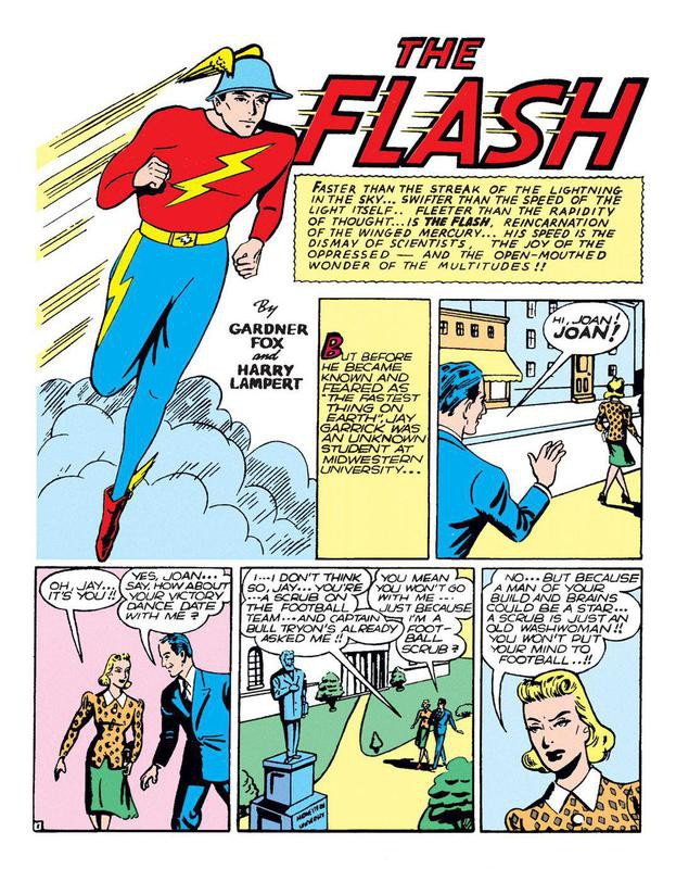 The Flash first appearance