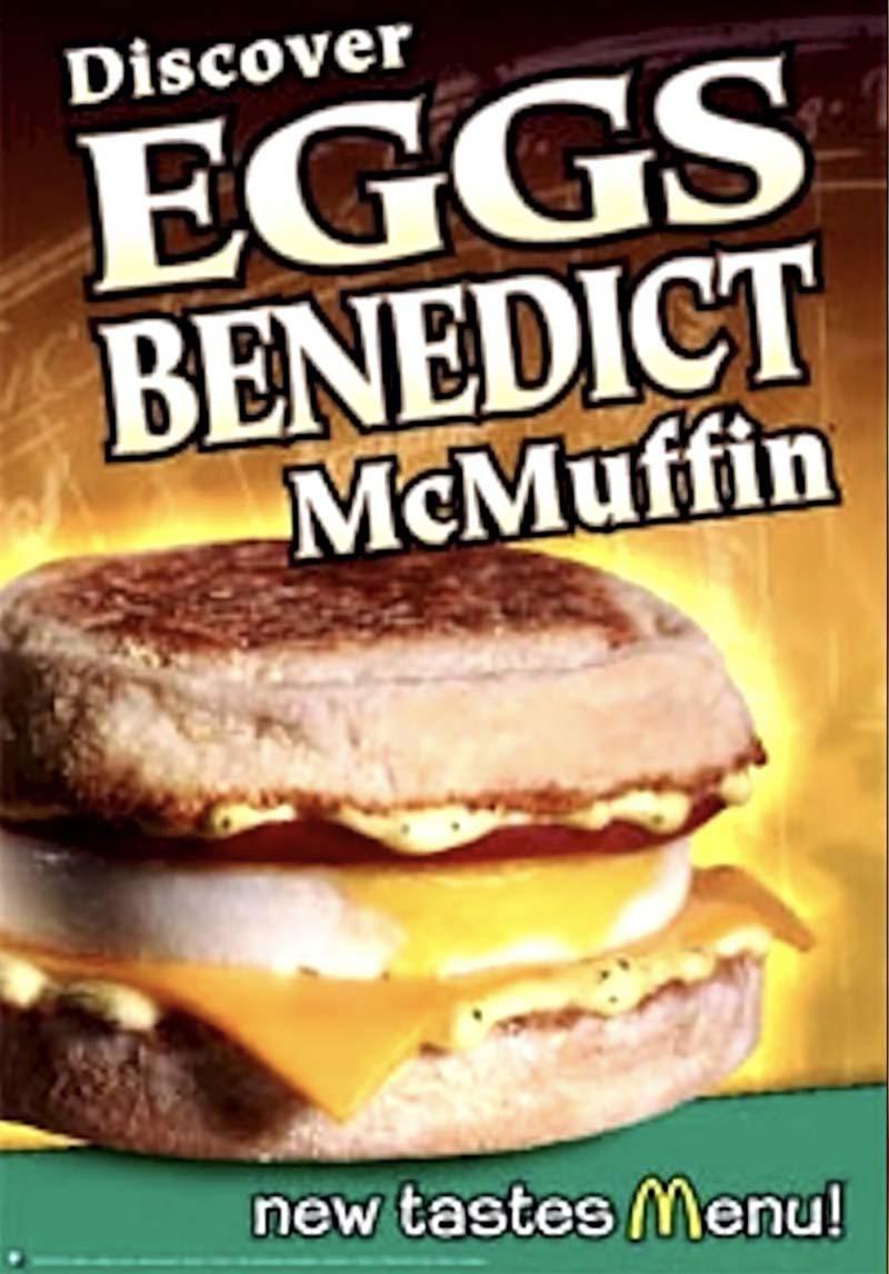 Eggs Benedict McMuffin