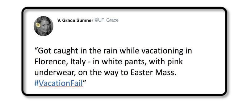 Vacation Fail