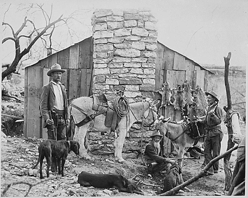 Historic Old West photograph
