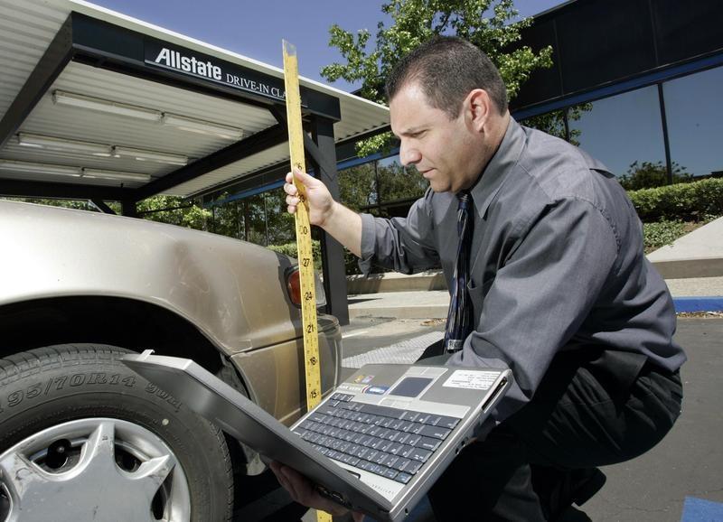 Damage appraiser, auto insurance