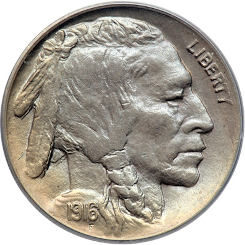 1916 Doubled Die Obverse Nickel