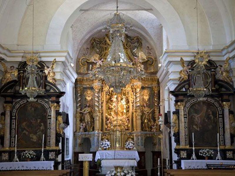 Church of the Assumption interior