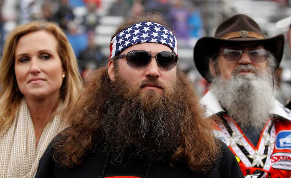 Duck Dynasty stars Korie Robertson, Willie Robertson and Si Robertson