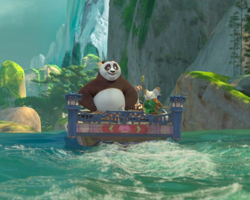 DreamWorks Theatre Featuring Kung Fu Panada