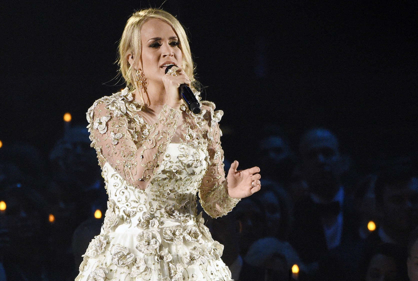 Carrie Underwood at the 51st CMA Awards