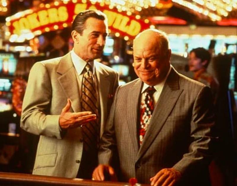 Robert De Niro and Don Rickles in Casino