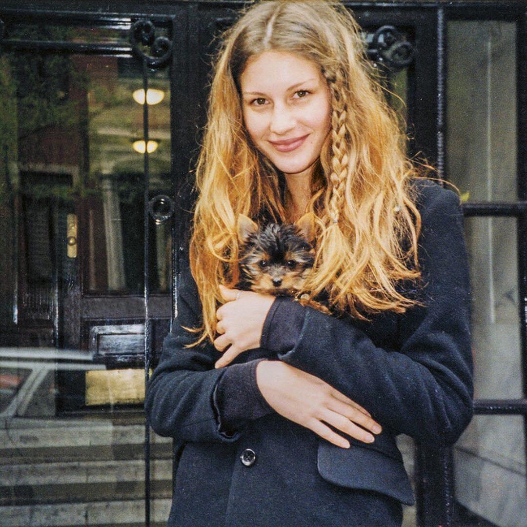 Young Gisele Bundchen