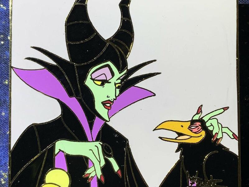 Maleficent and Diablo Pin