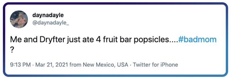 eating popsicles