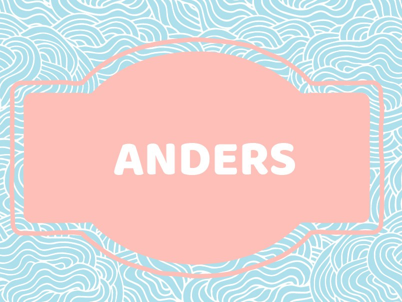 'A' Names for Boys: Anders