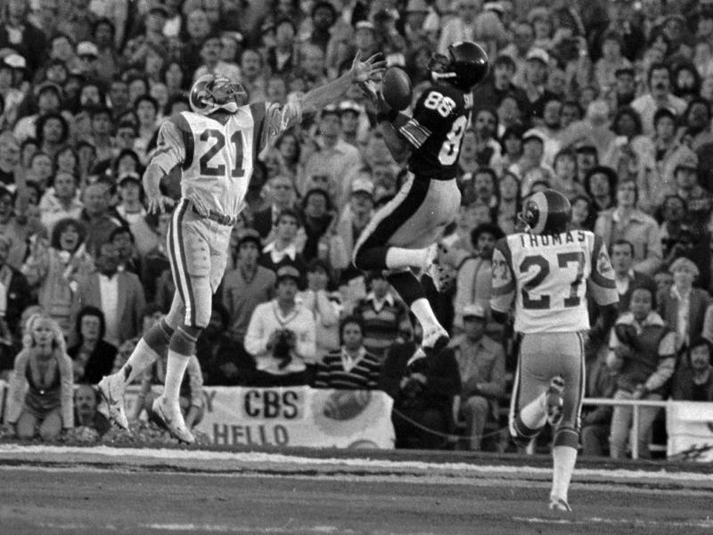 Lynn Swann in Super Bowl XIV
