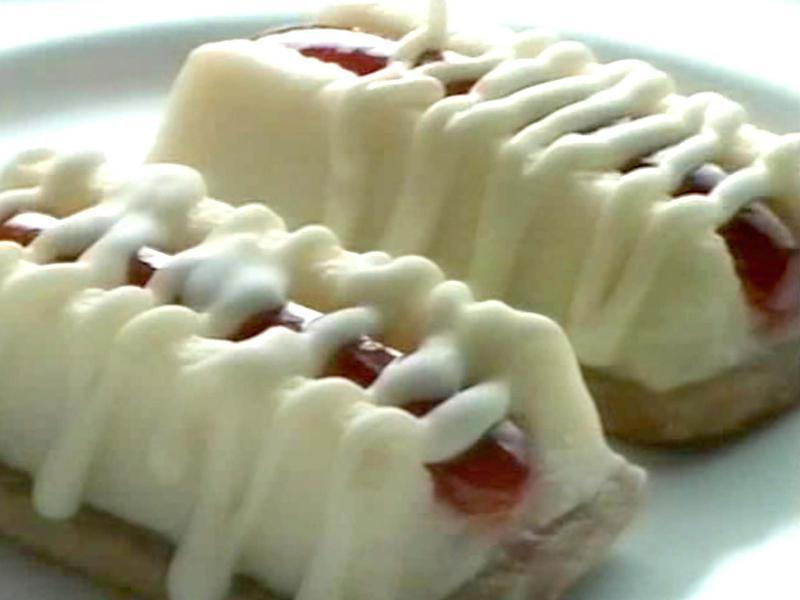 Philadelphia Cheesecake Snack Bars
