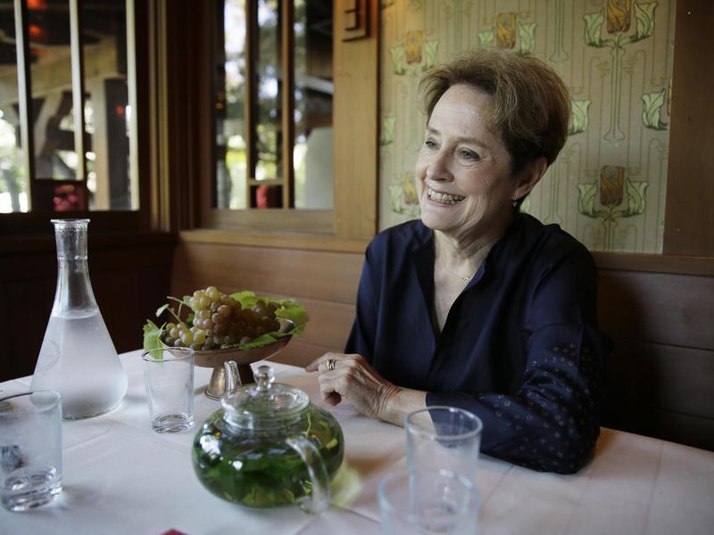 Alice Waters, founder of Chez Panisse restaurant