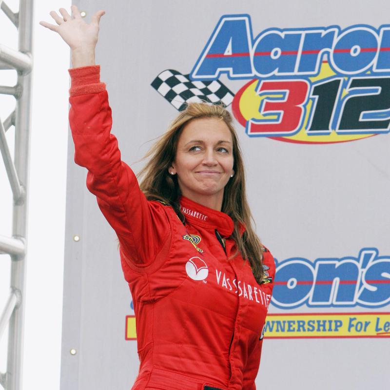 Shawna Robinson waving
