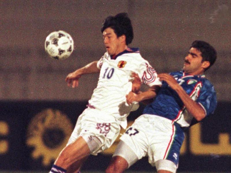 Asian Cup quarterfinal 1996