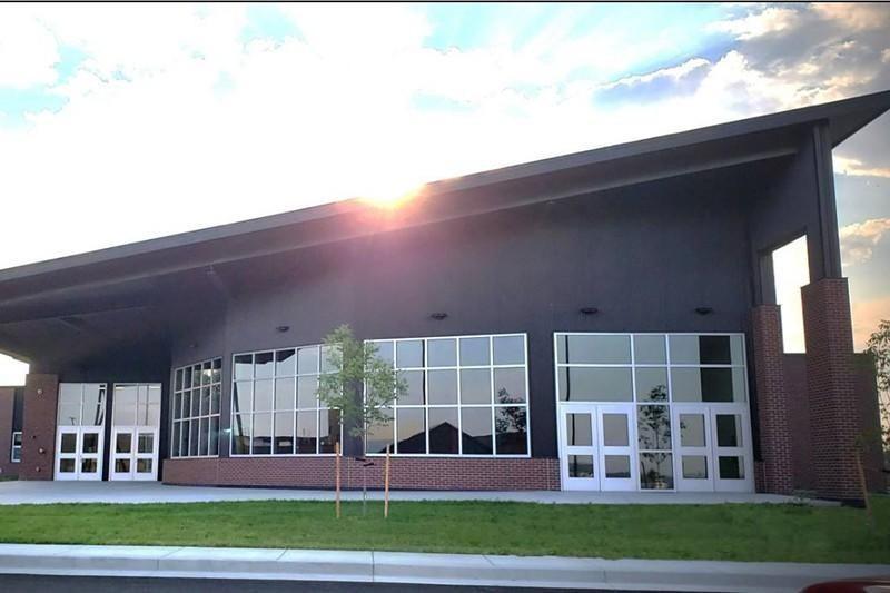 Fort Washakie High School in Wyoming