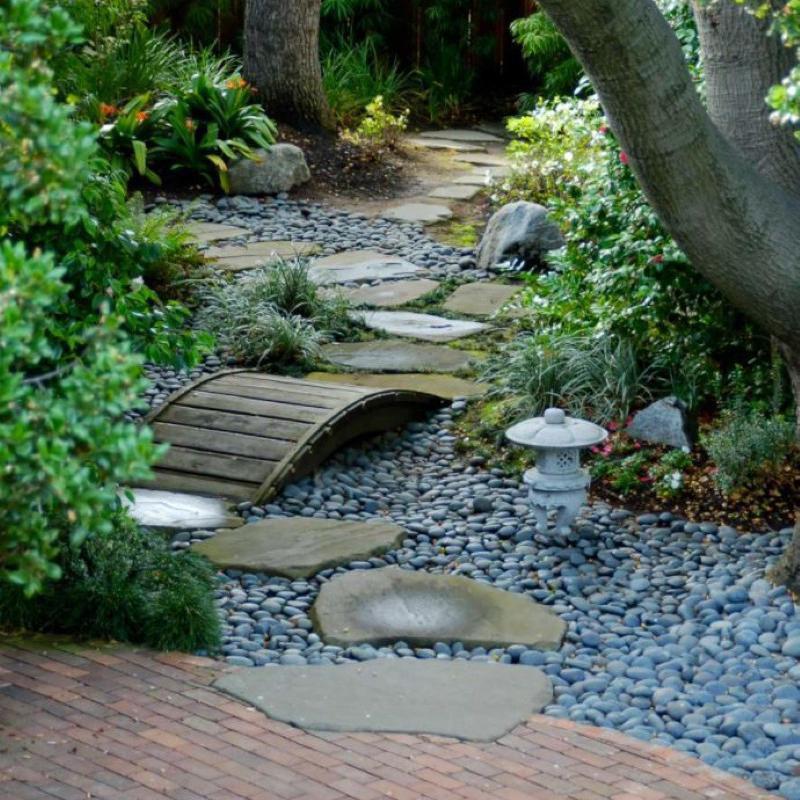 Japanese garden in San Francisco