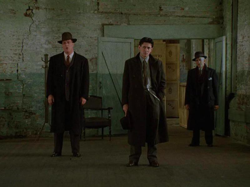 Gabriel Byrne, Al Mancini, and Mike Starr in Miller's Crossing
