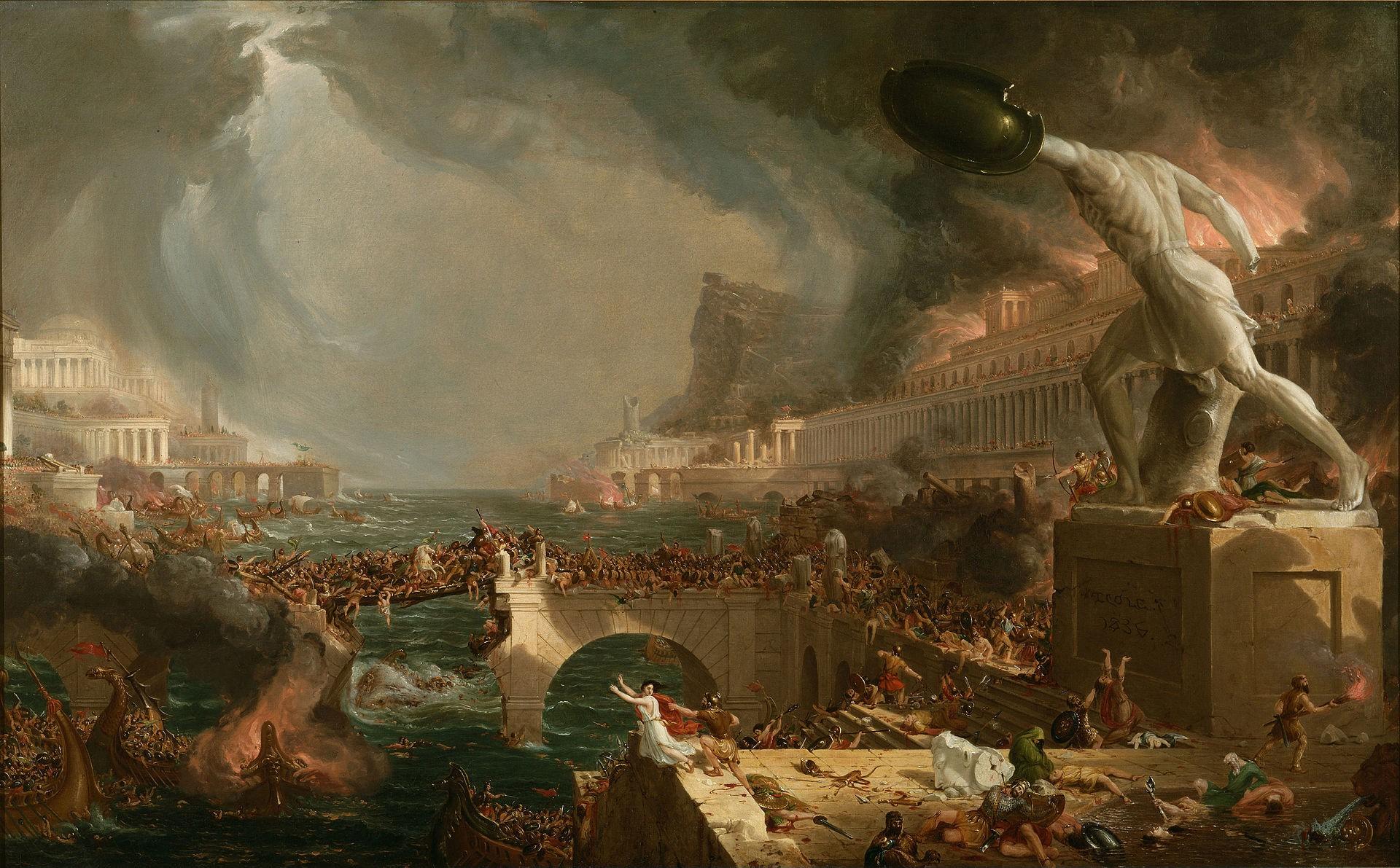 The Course of Empire Destruction