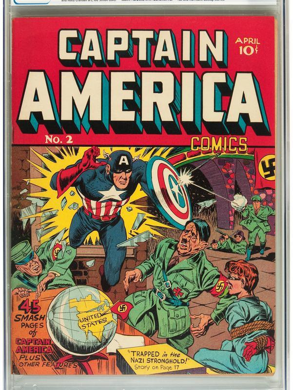 Captain America No. 2