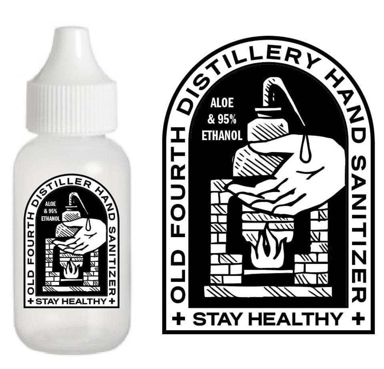 Fourth Distillery Hand Sanitizer