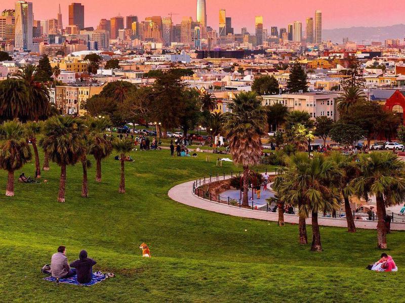 Dolores Park in San Francisco