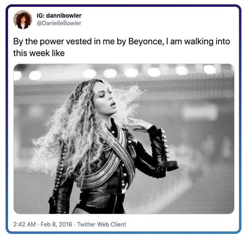 Beyoncé energy
