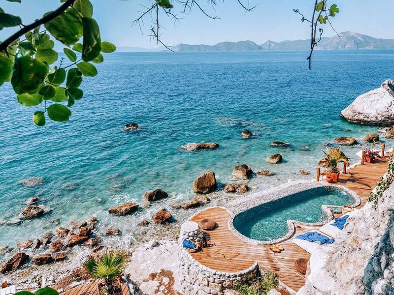 Coastline Pool in Turkey