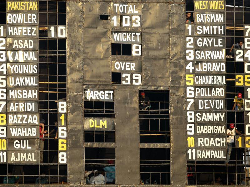 2011 Cricket World Cup scoreboard