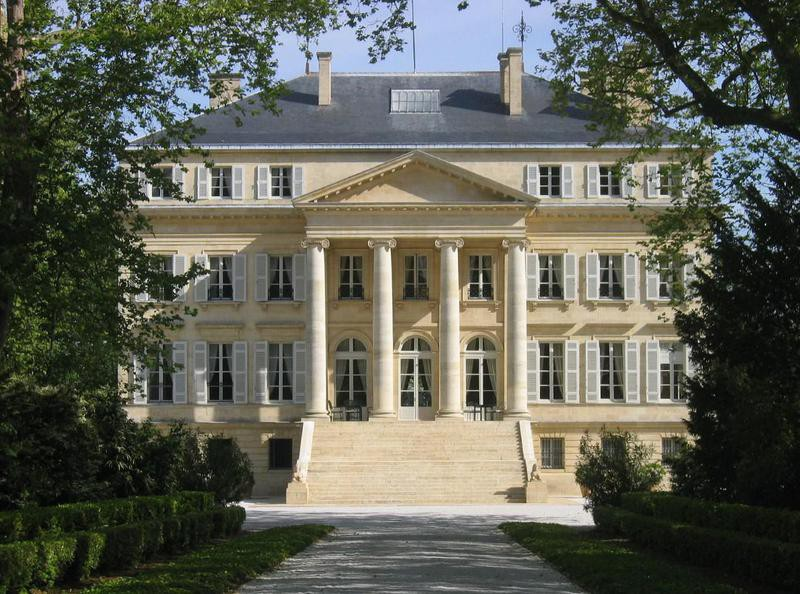 Chateau Margaux estate in France