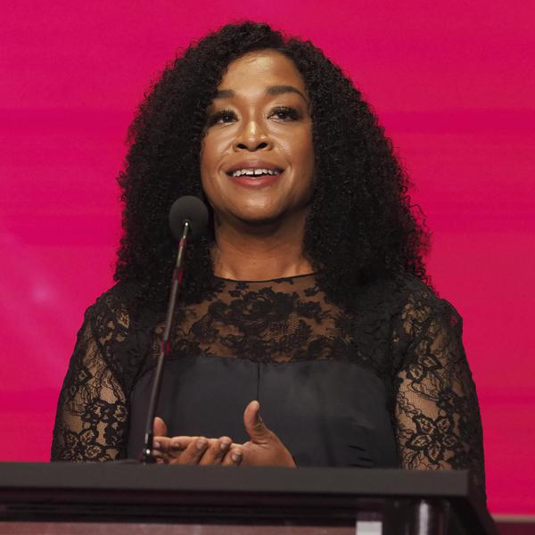 Shonda Rhimes is inducted into the Television Academy Hall of Fame on Wednesday, Nov. 15, 2017 at the Television Academy's Saban Media Center in North Hollywood, Calif. (Photo by Phil Mccarten/Invision for Invision for the Television Academy/AP Images)