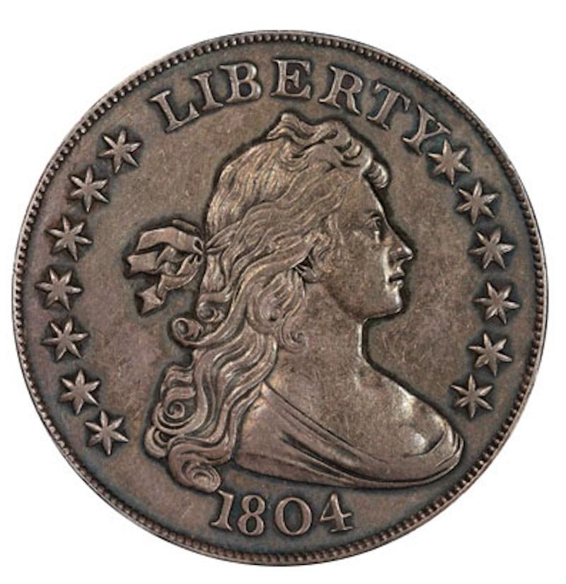 1804 Draped Bust Dollar