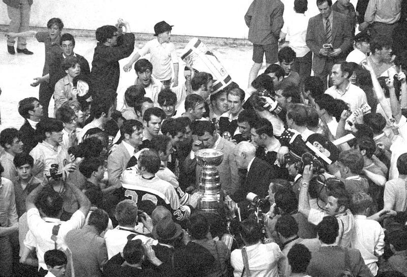 Boston Bruins win Stanley Cup in 1970