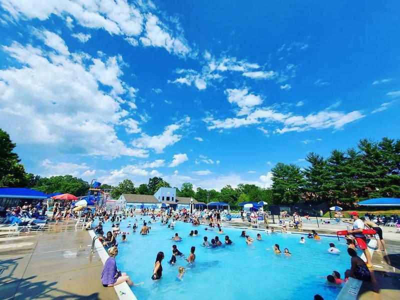 Pool at Upton Hills Regional Park