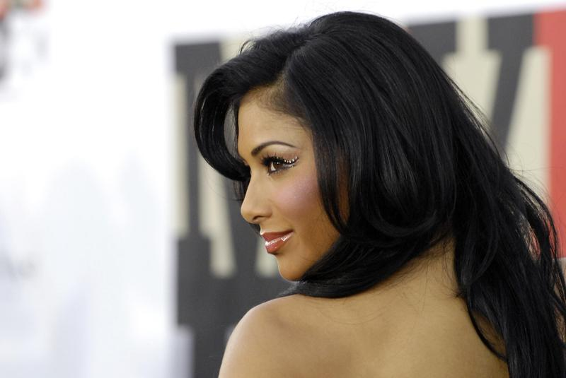 """Nicole Scherzinger poses at """"Movies Rock: A Celebration of Music in Film"""" in Los Angeles in 2007."""