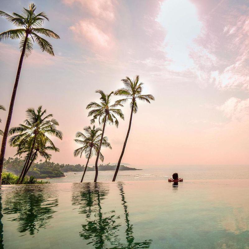 Infinity Sunset Pool in Sri Lanka