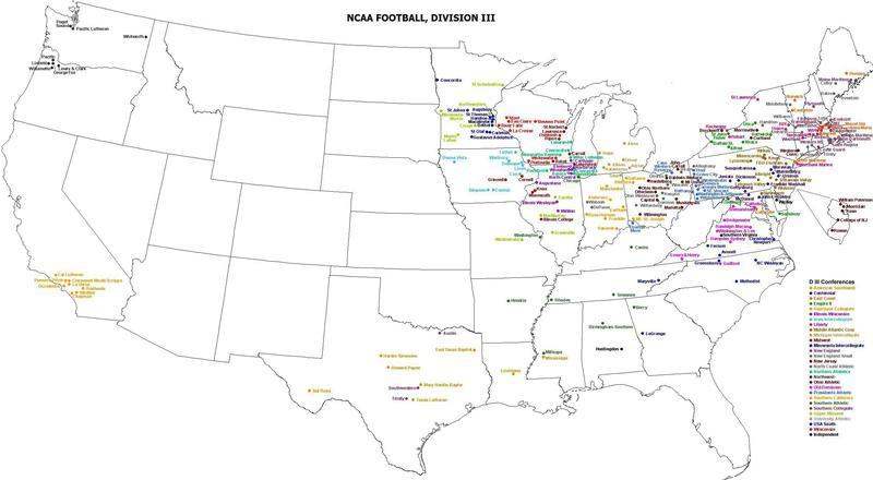 Division III football teams