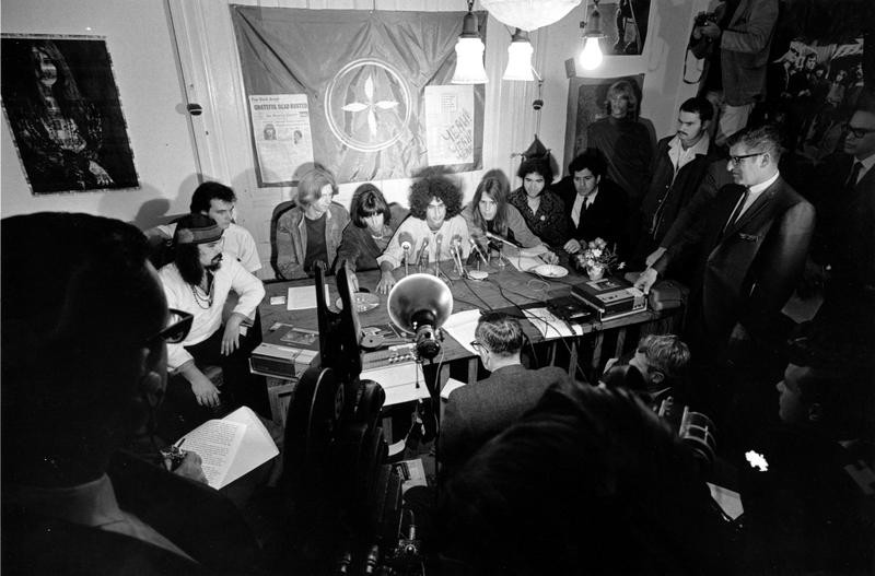 Grateful Dead at home in 1967