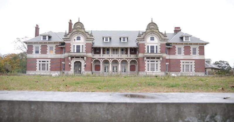 Idle Hour, abandoned Vanderbilt Mansion in Oakdale