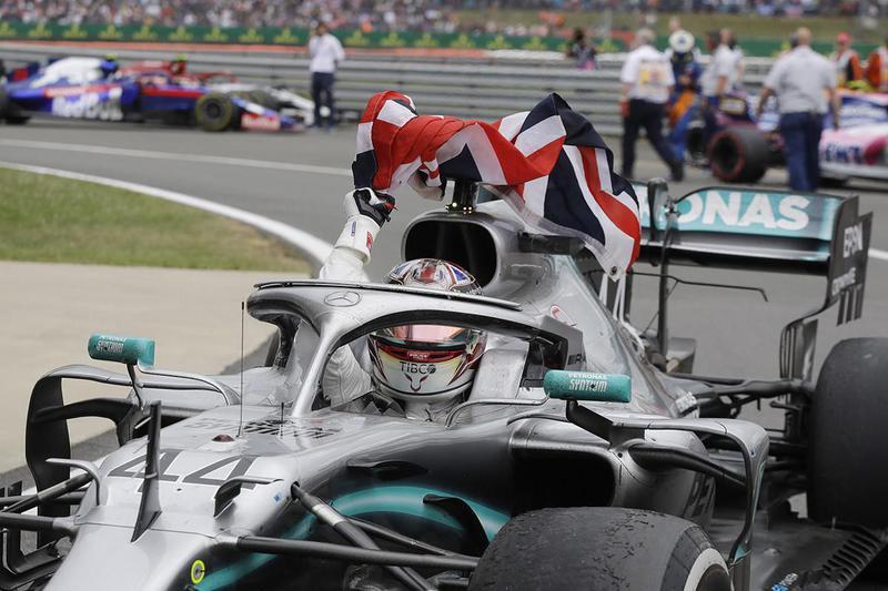 Lewis Hamilton Wins British Formula One Grand Prix