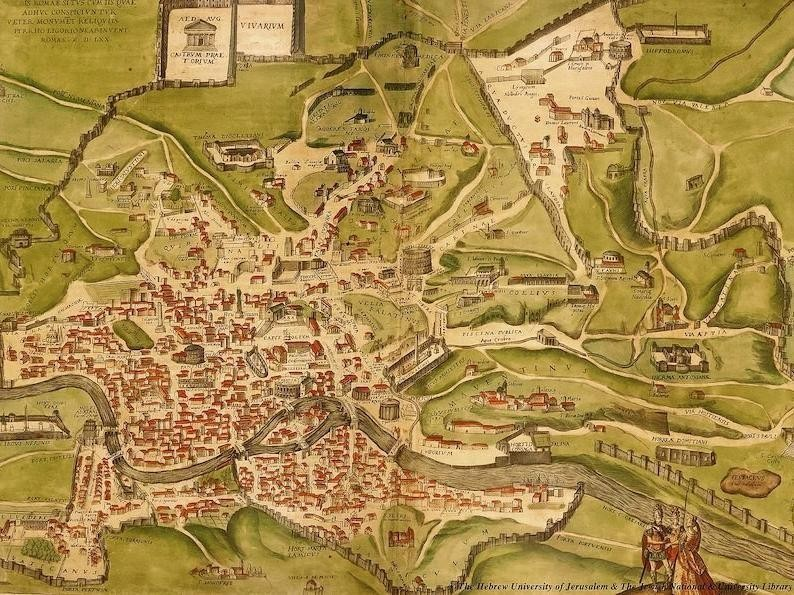 Historical Map of Rome