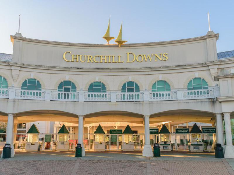 Churchill Downs entrance
